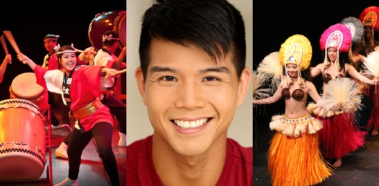 Soh Daiko, Telly Leung and Lei Pasifika will perform at The Met's APA Heritage Month celebration on May 22, 2015. Credit: Image: Soh Daiko, Matsuri Carnegie. Photograph by Matthew Tom Wolverton | Telly Leung, Photograph by Leslie Bohm | Phillip Howell for Lei Pasifika of Lotus Music & Dance