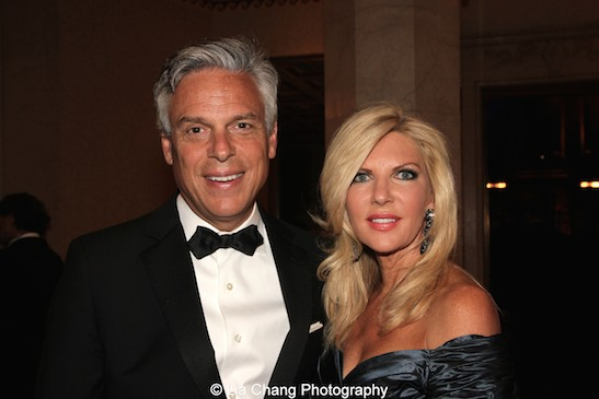 The Hon. Jon Huntsman, Jr. and his wife Mary Kaye Huntsman attend the China Institute's Blue Cloud Gala at Gotham Hall in New York on May 29, 2015. Photo by Lia Chang