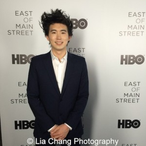 Director Jonathan Yi attends HBO's screening of East of Main Street: Taking the Lead at Root (Drive-In) in New York on May 6, 2015. Photo by Lia Chang