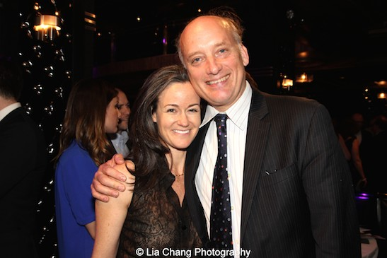 Kimberly Grigsby and Frank Wood attend The 52nd Street Project's Fancy That Benefit at The Edison Ballroom in New York on May 4, 2015. Photo by Lia Chang
