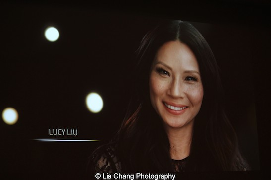 Lucy Liu. Photo by Lia Chang