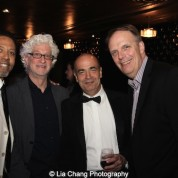 Peter Jay Fernandez, Richard Sweren, Bruce MacVittie and Peter Herdrich attend The 52nd Street Project's Fancy That Benefit at The Edison Ballroom in New York on May 4, 2015. Photo by Lia Chang