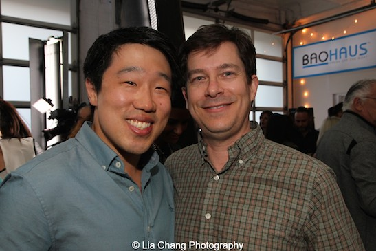 Raymond J. Lee and Robbi Kearns attend HBO's screening of East of Main Street: Taking the Lead at Root (Drive-In) in New York on May 6, 2015. Photo by Lia Chang