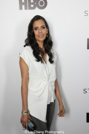 Sheetal Sheth attends HBO's screening of East of Main Street: Taking the Lead at Root (Drive-In) in New York on May 6, 2015. Photo by Lia Chang