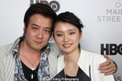 Revenge of the Green Dragon stars Shing Ka and Celia Au attend HBO's screening of East of Main Street: Taking the Lead at Root (Drive-In) in New York on May 6, 2015. Photo by Lia Chang