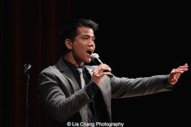 Telly Leung performs at the Metropolitan Museum of Art's celebration of Asian-Pacific American Heritage Month on May 22, 2015 in the Grace Rainey Rogers Auditorium in New York. Photo by Lia Chang