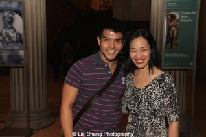 Telly Leung and Lia Chang at the Metropolitan Museum of Art's celebration Asian-Pacific American Heritage Month on May 22, 3015 in the Grace Rainey Rogers Auditorium. Photo by June Jee