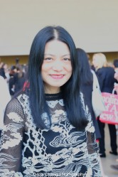 Fashion designer Vivienne Tam attends the 'China: Through the Looking Glass' press preview at the Temple of Dendur at Metropolitan Museum of Art on May 4, 2015 in New York City. Photo by Lia Chang
