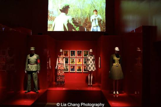 """China: Through the Looking Glass,"" on view at the Metropolitan Museum of Art. Photo by Lia Chang"