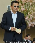 Filmmaker Wong Kar-Wai attends the 'China: Through the Looking Glass' press preview at the Temple of Dendur at Metropolitan Museum of Art on May 4, 2015 in New York City. Photo by Lia Chang
