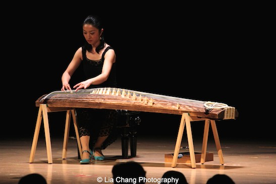 Yumi Kurosawa performs at the Metropolitan Museum of Art's celebration of Asian-Pacific American Heritage Month on May 22, 2015 in the Grace Rainey Rogers Auditorium in New York. Photo by Lia Chang