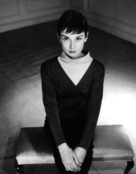 Audrey Hepburn by Antony Beauchamp, 1955. Image credit: Reserved.