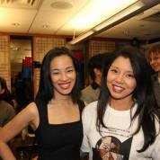 Lia Chang and AsAmNews.com's Shirley N. Lew at the 72 Hour Shootout Launch party at The Korea Society in New York on June 4, 2015. Photo by GK