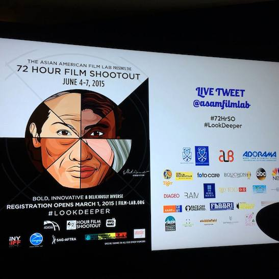 The 72 Hour Shootout Launch party at The Korea Society in New York on June 4, 2015. Photo by Lia Chang