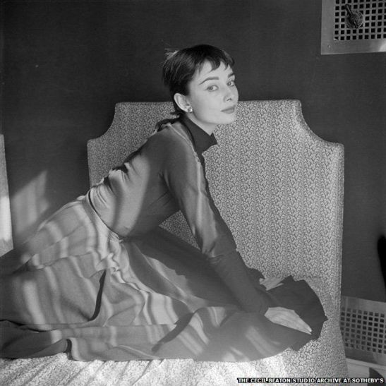 Audrey Hepburn by Sir Cecil Beaton in 1954, the year Sabrina was released.