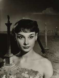Audrey Hepburn by Angus McBean, October 1950 ©National Portrait Gallery, London