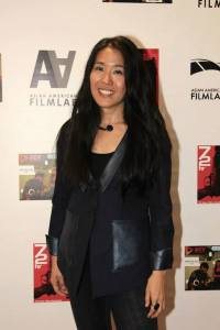 Director Bertha Bay-Sa Pan at the 72 Hour Shootout Launch party at The Korea Society in New York on June 4, 2015. Photo by Lia Chang