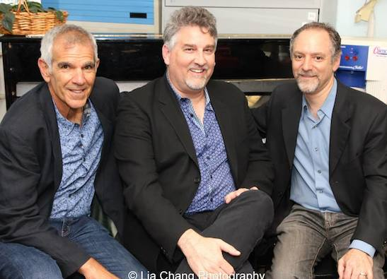 The creators of Grounded for Life- Bill Habeeb, Pat Hazell and Lawrence Goldberg at The York in New York on June 26, 2015. Photo by Lia Chang
