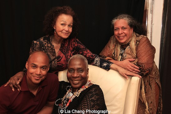 Curtis Wiley, Marcia Pendleton, Lizan Mitchell and Devorah Hill. Photo by Lia Chang