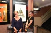 Production designer Dara Wishingrad and Director Jennifer Phang at a screening of Advantageous at Cinema Village in New York on June 26, 2015. Photo by Lia Chang