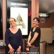 Production designer Dara Wishingrad and Director Jennifer Phang at a screening of Advantageous at Cinema Village in New York on June 26, 2015. Photo by Lia Chang