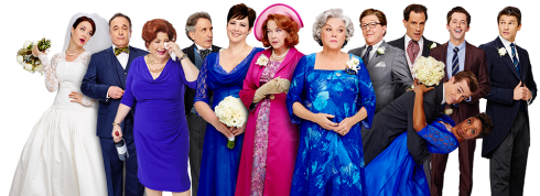 The cast of It Shoulda Been You