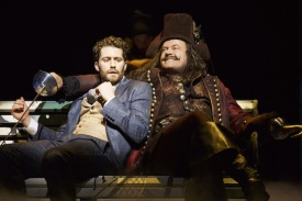 "Matthew Morrison and Kelsey Grammer in ""Finding Neverland."" Photo: Carol Rosegg"