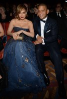 NEW YORK, NY - JUNE 07: Jennifer Lopez and Benny Medina attend the 2015 Tony Awards at Radio City Music Hall on June 7, 2015 in New York City. (Photo by Kevin Mazur/Getty Images for Tony Awards Productions)