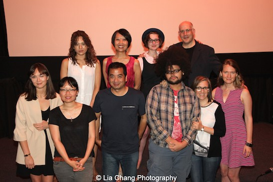 Team Advantageous at the opening night screening of of Advantageous at Cinema Village in New York on June 26, 2015. Photo by Lia Chang