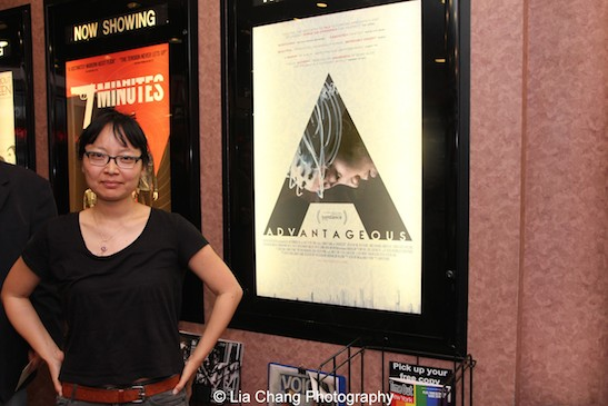Director Jennifer Phang at a screening of Advantageous at Cinema Village in New York on June 26, 2015. Photo by Lia Chang