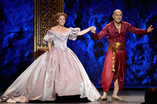 Watanabe perform with the cast of the King and I onstage at the 2015 Tony Awards at Radio City Music Hall on June 7, 2015 in New York City.  (Photo by Theo Wargo/Getty Images for Tony Awards Productions)