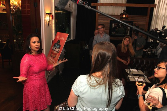 Allegiance's Lea Salonga at The Strand Bistro in New York on June 25, 2015. Photo by Lia Chang