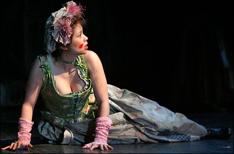 Lea Salonga as Fantine in the 2006 Revival of Les Miserables. Photo by Joan Marcus