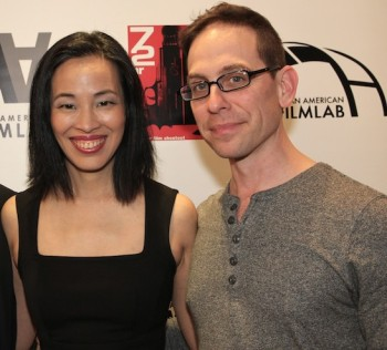 Producing partners Lia Chang and Garth Kravits at the 72 Hour Shootout Launch party at The Korea Society in New York on June 4, 2015. Photo by Erin Quill
