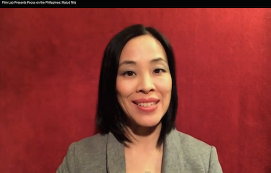 FILM LAB PRESENTS host Lia Chang