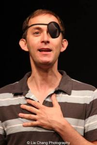 Michael Keyloun as Ernie McKeever. Photo by Lia Chang