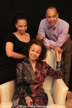 Rachel Leslie, Lizan Mitchell and Tyrone Mitchell Henderson. Photo by Lia Chang