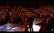 The view of the audience at Radio City Music Hall for newly minted Tony winner Ruthie Ann Miles on June 7, 2015.