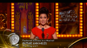 The King and I's Ruthie Ann Miles Wins Tony Award for Best Featured Actress in a Musical at the 69th Annual Tony Awards at Radio City Music Hall in New York on June 7, 2015.