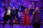 NEW YORK, NY - JUNE 07: Vanessa Hudgens and the cast of 'Gigi' perform onstage at the 2015 Tony Awards at Radio City Music Hall on June 7, 2015 in New York City. (Photo by Theo Wargo/Getty Images for Tony Awards Productions)