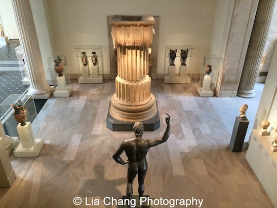 Greek and Roman art at The Metropolitan Museum of Art. Photo by Lia Chang #emptymet