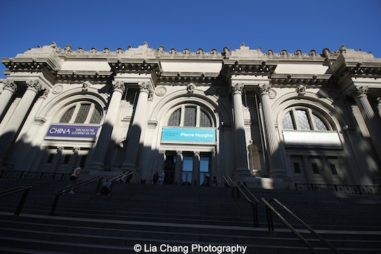 The Metropolitan Museum of Art at 8:25 A.M. on June 24, 2015. Photo by Lia Chang #emptymet