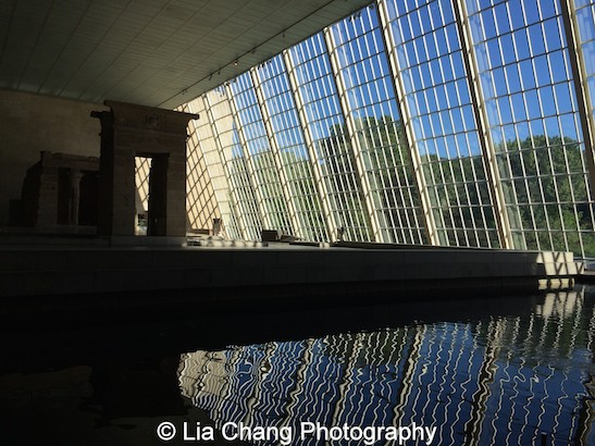 Temple of Dendur at the Metropolitan Museum of Art. Photo by Lia Chang #emptymet