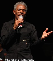 André De Shields in CONFESSIONS OF A P.I.M.P. in Victory Gardens' 2015 IGNITION Festival of New Plays in Chicago on July 16, 2015. Photo by Lia Chang