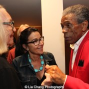 André De Shields and guests at the opening night party of Victory Gardens Theater's 2015 IGNITION Festival of New Plays in Chicago on July 16, 2015. Photo by Lia Chang