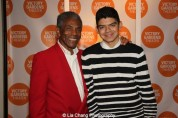 André De Shields and Mateo Hurtado at the opening night party of Victory Gardens Theater's 2015 IGNITION Festival of New Plays in Chicago on July 16, 2015. Photo by Lia Chang