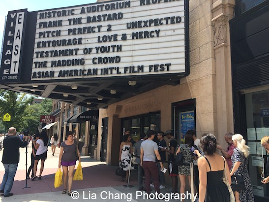 38th Asian American International Film Festival at Village Cinema East in New York on July 25, 2015. Photo by Lia Chang