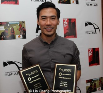 "Finding You by ""The Perfect Asian Pear"" (Top Ten Film; Best Actor, Grant Chang; Best Director, Grant Chang). Photo by Lia Chang"
