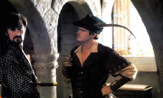 ROBIN HOOD: MEN IN TIGHTS, Roger Rees, Cary Elwes, 1993, TM & Copyright (c) 20th Century Fox Film Corp.