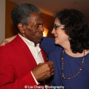 André De Shields and Merril Prager at the opening night party of Victory Gardens Theater's 2015 IGNITION Festival of New Plays in Chicago on July 16, 2015. Photo by Lia Chang